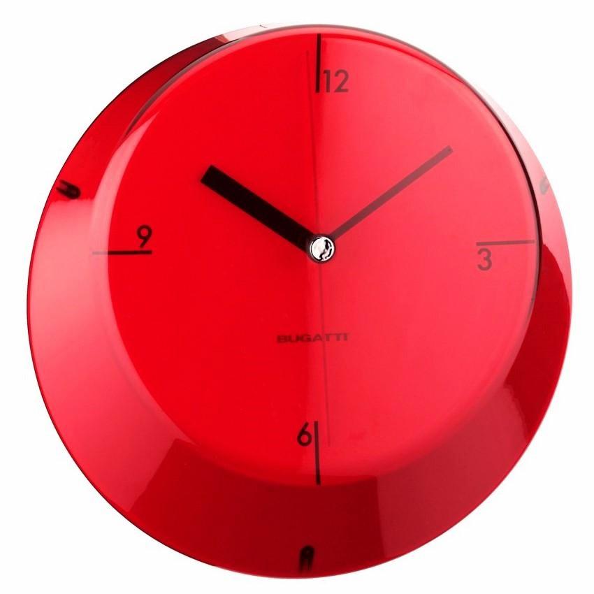 Designové Italské nástěnné hodiny Galmour BUGATTI  73cabf3849